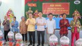 Bộ trưởng Bộ Tư pháp Lê Thành Long tiếp xúc cử tri xã Mong Thọ B, Châu Thành