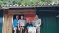 Cục THADS Sơn La giúp đỡ xóa nhà tạm cho một hộ nghèo