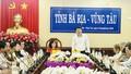 Thứ trưởng Đặng Hoàng Oanh, Nguyễn Thanh Tịnh làm việc với tỉnh Bà Rịa Vũng Tàu