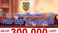 """Cuộc thi trực tuyến """"Pháp luật với mọi người"""": đã có hơn 300 ngàn lượt thi"""