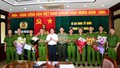 Khen thưởng Công an Hải Phòng bắt giữ được đối tượng dùng súng bắn người tại quán trà đá