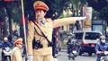 Hình ảnh đẹp của nữ CSGT Thủ đô  trong mắt Nhân dân