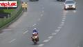 Xe máy vẫn ngang nhiên đi vào đường cao tốc đại lộ Thăng Long
