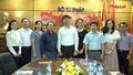 Thứ trưởng Bộ Tư Pháp Nguyễn Thanh Tịnh làm việc với Báo Pháp luật Việt Nam