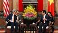 Ngoại trưởng Mỹ đến chào xã giao Chủ tịch nước Trương Tấn Sang