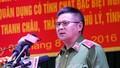 Thiếu tướng Hồ Sỹ Tiến công bố thông tin vụ giám đốc bị giết