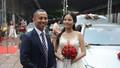 Chí Anh đi xe hơn 7 tỷ đồng tới tiệc cưới
