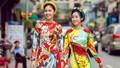 Đỗ Mỹ Linh, Thanh Tú theo trào lưu mặc áo dài ngày Tết