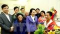 Bộ trưởng Y tế thăm bệnh nhân ghép phổi từ người cho sống đầu tiên