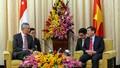 Thủ tướng Singapore Lý Hiển Long đã đến Việt Nam