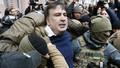 Ukraine lại bắt cựu Tổng thống Georgia