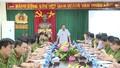 Thượng tướng Lê Quý Vương trực tiếp đến hiện trường vụ hai vợ chồng bị sát hại ở Hưng Yên