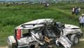Tàu hỏa đâm ô tô chở gia đình về quê ăn rằm, 2 chú cháu tử vong