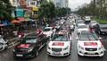 Đoàn xe hơn 40 chiếc hừng hực khí thế tiếp lửa Olympic Việt Nam trước giờ G