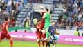 Thủ môn Văn Lâm xuất sắc trong hiệp 1 tứ kết Asian Cup