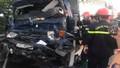 Tông đuôi container đang dừng trên cao tốc Pháp Vân - Cầu Giẽ, tài xế xe tải thiệt mạng trong cabin