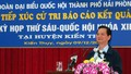 Thủ tướng Nguyễn Tấn Dũng tiếp xúc cử tri Hải Phòng