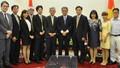 Thứ trưởng Bộ Tư pháp Nguyễn Khánh Ngọc tiếp xã giao Tiến sỹ Aikyo Masanori
