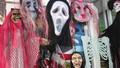 Hàng Trung Quốc  ngập tràn thị trường mùa Halloween
