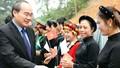 Ông Nguyễn Thiện Nhân dự Ngày hội đoàn kết toàn dân tộc ở Tuyên Quang