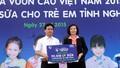 """Quỹ sữa """"Vươn cao Việt Nam"""" tặng tỉnh Nghệ An hơn 100.000 ly sữa"""