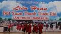 Học sinh Việt Trì sôi nổi thi hát Xoan