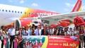 Vietjet tưng bừng khai trương đường bay từ Hà Nội đến Tuy Hòa (Phú Yên)