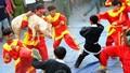 Kỳ thú hội đấu võ cướp heo Tết Vu lan