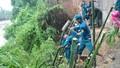Lực lượng vũ trang Bình Định 'đội mưa dầm lũ' ứng cứu người dân