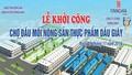 Tín Nghĩa Khởi công  xây dựng Chợ đầu mối Nông sản thực phẩm Dầu Giây