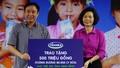 Vinamilk tặng sữa cho 40.000 trẻ em ở 40 tỉnh thành trên cả nước