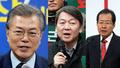 Hàn Quốc: Cuộc đua 'tam mã' tranh ghế tổng thống