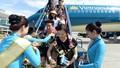 Chuyến bay quốc tế thứ 1 vạn của Vietnam Airlines đến thành phố biển Đà Nẵng