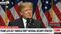 Chiến lược an ninh quốc gia Mỹ đậm dấu ấn Donald Trump