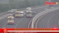 Triệu tập 3 lái xe khách dàn hàng trên cao tốc Hà Nội-Hải Phòng