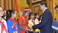 Chủ tịch nước gặp mặt 200 đại biểu thiếu nhi