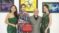 Dàn sao Việt thưởng lãm hơn 100 bức tranh của NTK Cao Minh Tiến