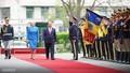 Lễ đón trọng thể Thủ tướng thăm Romania