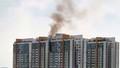 Căn hộ chung cư cao cấp ở Sài Gòn bốc cháy ngùn ngụt