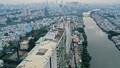 Hợp long cầu dây văng nối liền Sky Park tại dự án Diamond Lotus Riverside