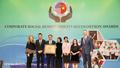 Herbalife Việt Nam nhận giải thưởng Trách nhiệm Xã hội Doanh nghiệp 2019