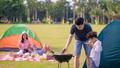 Khám phá địa điểm cắm trại tuyệt đẹp dành cho các gia đình tại Khu đô thị Ecopark