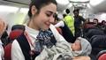 Khách nhí chào đời trên máy bay mang quốc tịch gì?