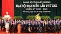 Bắc Giang: Công bố kết quả bầu Bí thư, Phó Bí thư Tỉnh ủy nhiệm kỳ 2020 - 2025