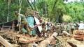 Tang thương chất chồng do sạt lở núi ở Quảng Nam