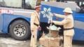 Xe khách chở 12.600 gói dầu gội đầu Clear giả vào Nam