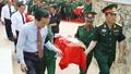 An táng 65 bộ hài cốt liệt sỹ quân tình nguyện hy sinh tại Lào