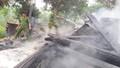 Nghệ Anh: Hỏa hoạn thiêu rụi trụ sở làm việc của Ban Công an và Quân sự xã