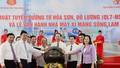 Chủ tịch nước nhấn nút vận hành nhà máy xi măng Sông Lam
