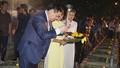 Phó thủ tướng Vương Đình Huệ dự chương trình Khúc tráng ca Việt  - Lào
